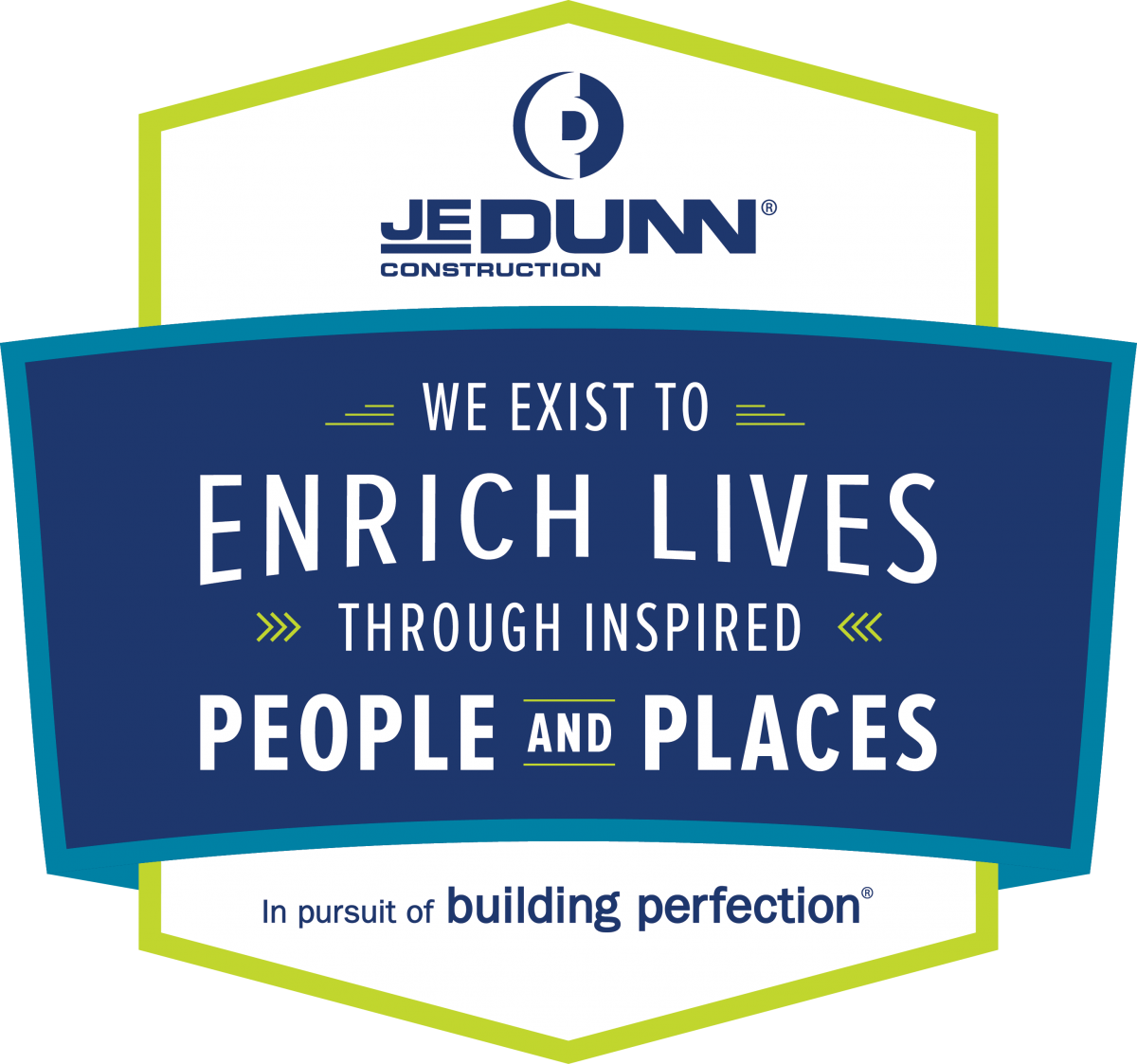 JE Dunn Purpose Badge