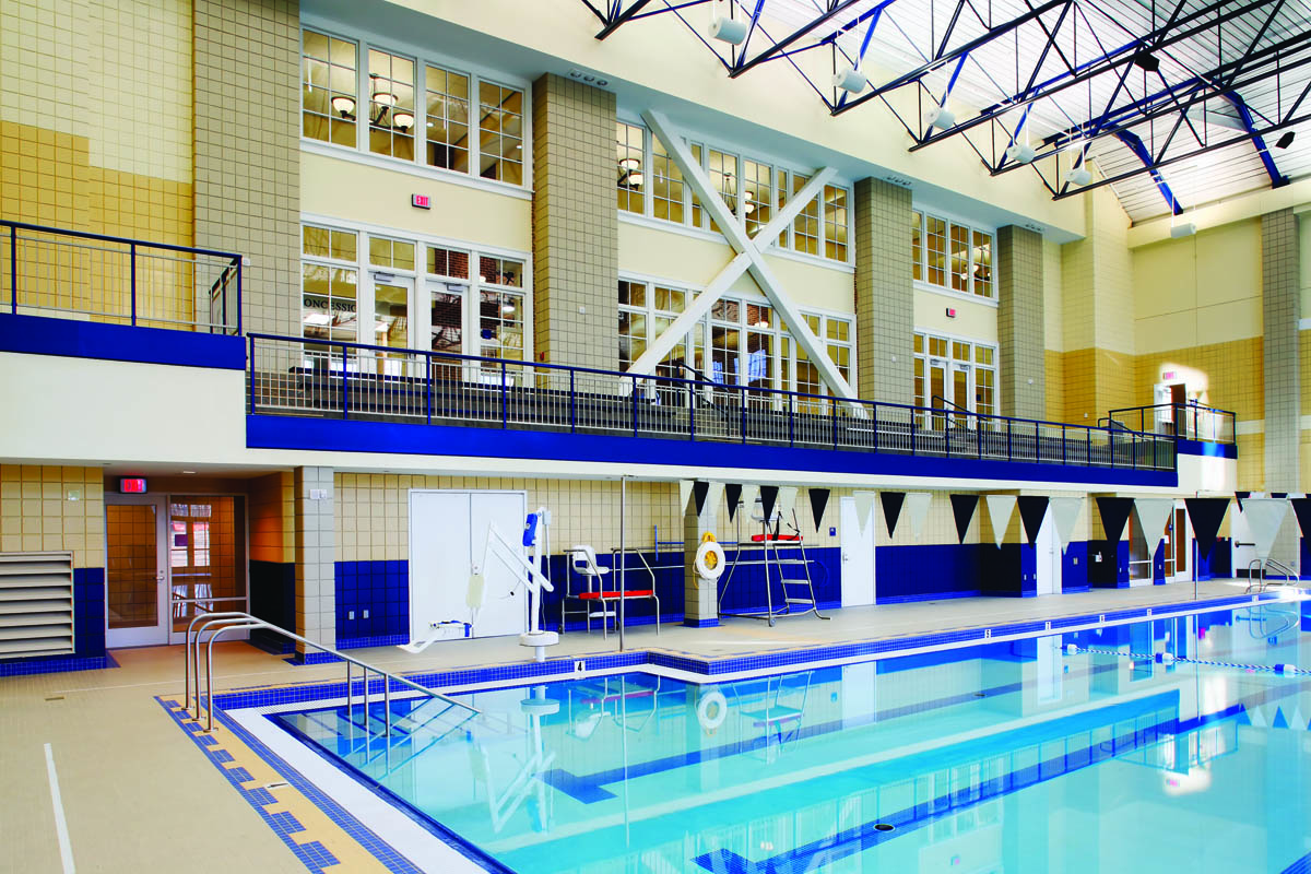Berry college cage athletic facility je dunn construction - University of chicago swimming pool ...