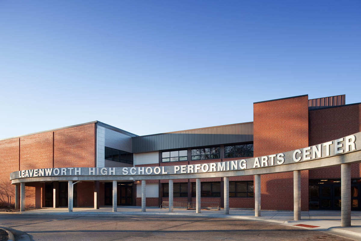 Leavenworth High School Additions and Remodel | JE Dunn ...