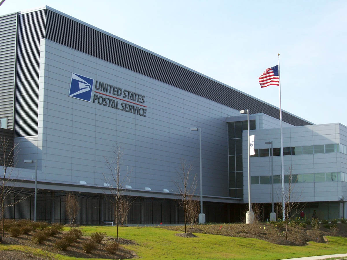 United States Postal Service Processing And Distribution Center Je